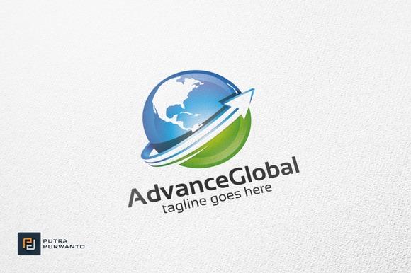 Advance Global Globe Logo