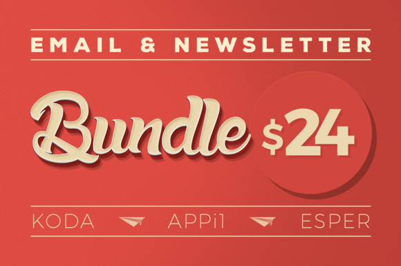 Email Newsletter Bundle #1