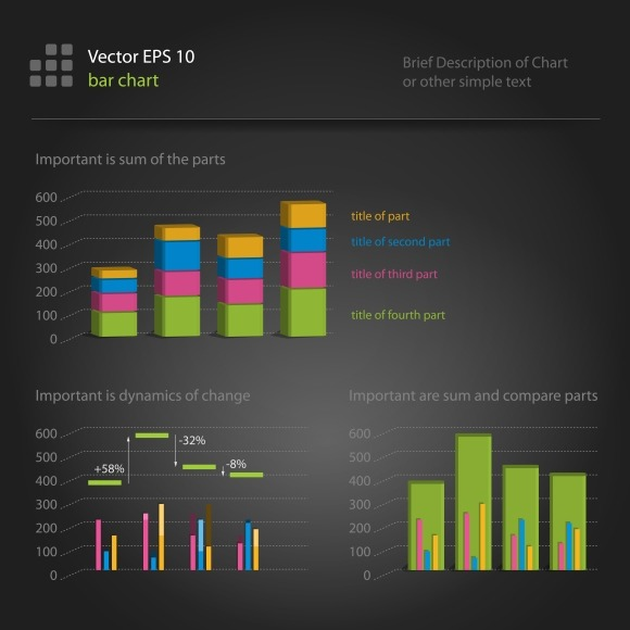 Iinfographics Bar Chart