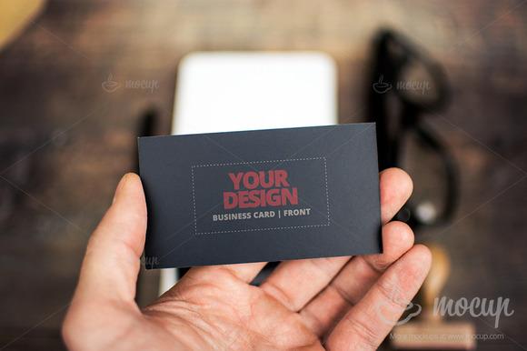 PSD Mockup Business Card CI 2 A