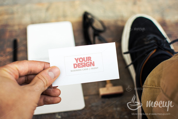 PSD Mockup Business Card CI 2 B