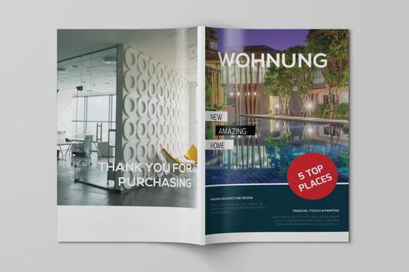 Wohnung Magazine Template