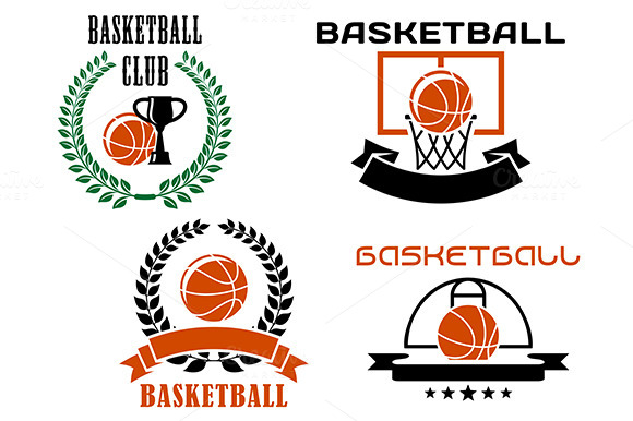 Basketball Club Emblems And Symbols