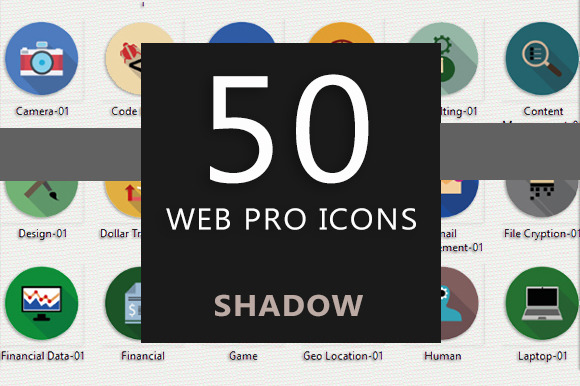50 Web Pro Icons