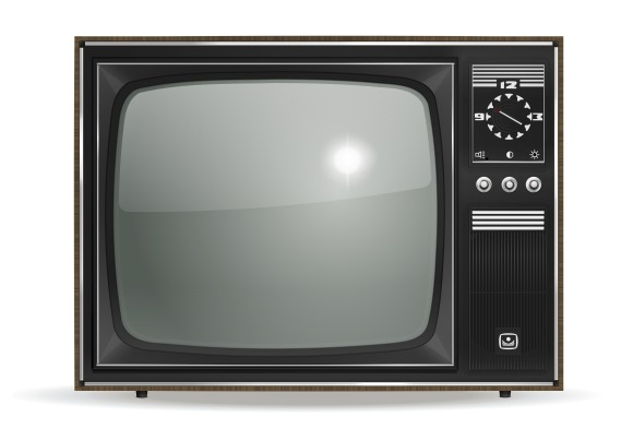 Vector Old TV