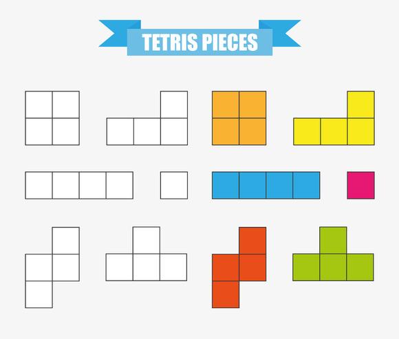 Tetris Racing Retro Flash Game In Actionscript