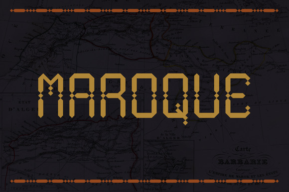 Maroque Font