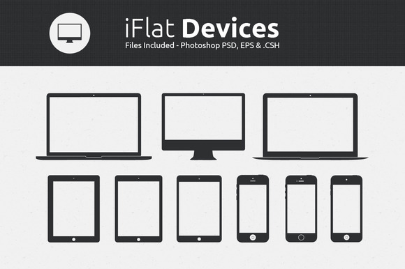 IFlat Devices Custom Shapes