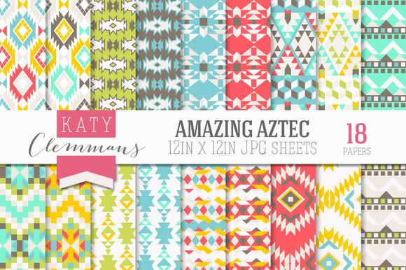 Amazing Aztec Paper Pack
