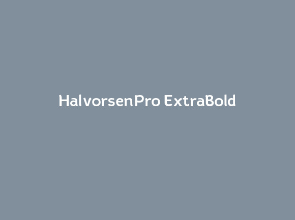 HalvorsenPro ExtraBold