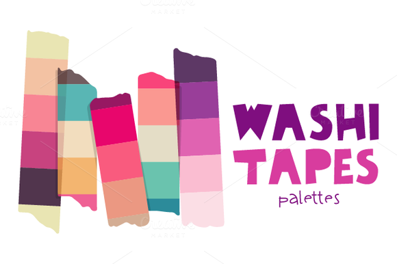 Washi Tapes-Palettes