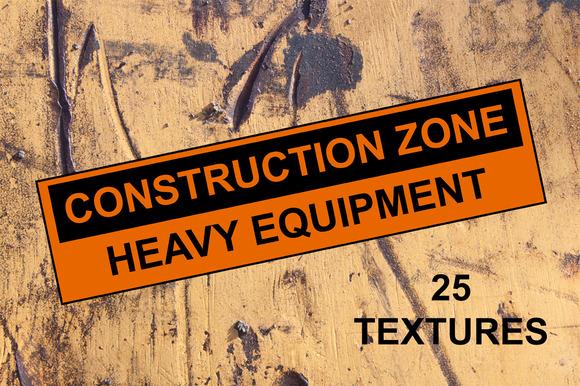 Construction Zone Heavy Equipment