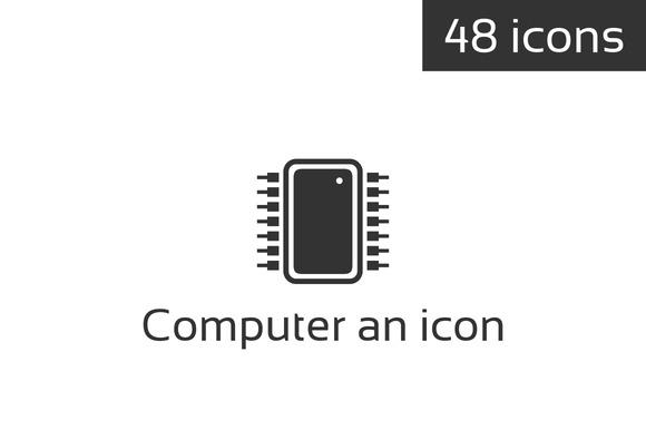 Computer An Icon