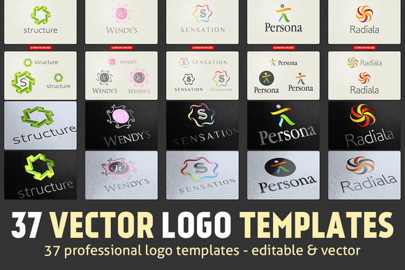 37 Vector Logo Templates