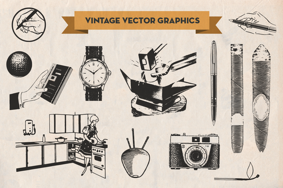 Vintage Vector Graphics