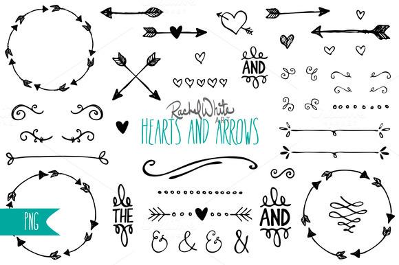 Hearts Arrows Clip Art