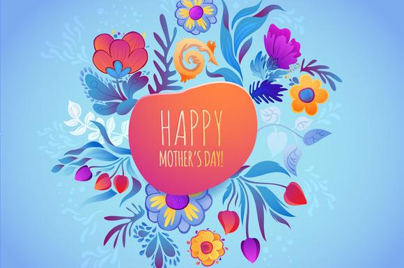 3 Cute Floral Greeting Card