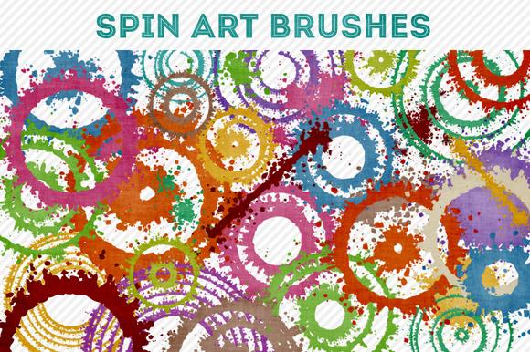 Spin Art Brushes