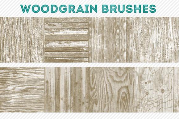 Woodgrain Brushes