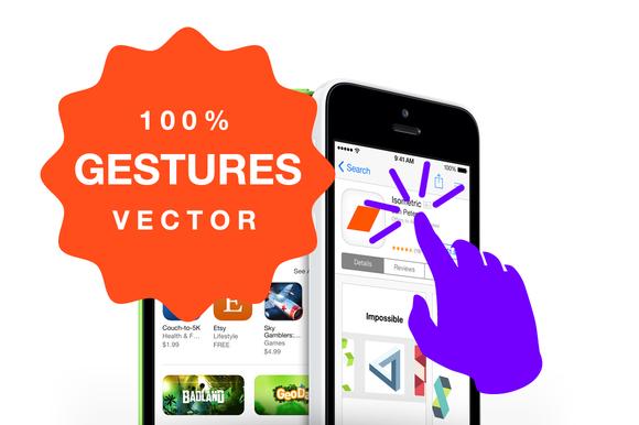 Gestures 100% Vector