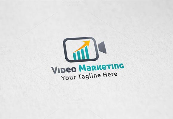 Video Marketing Logo Template