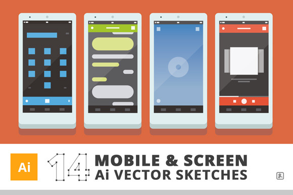 14 Ai Mobile Screen Sketches