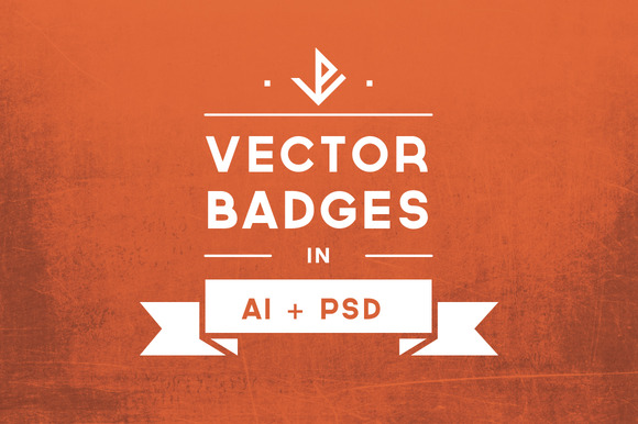 Minimal Vector Badges I