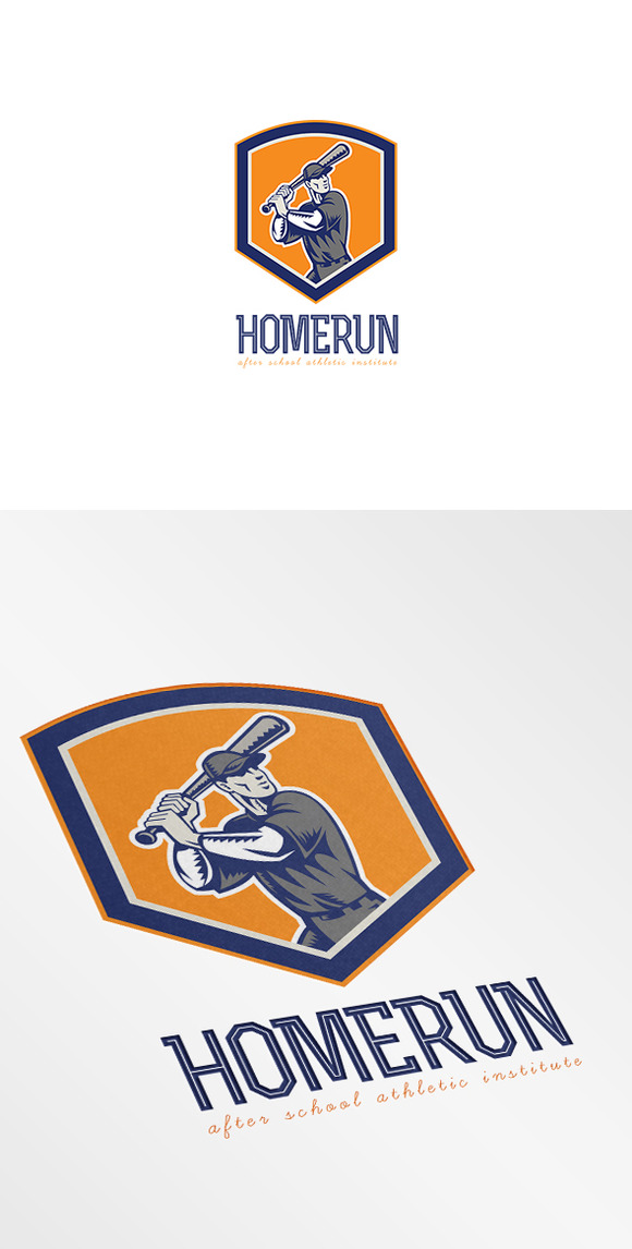 Homerun Athletic Institute Logo