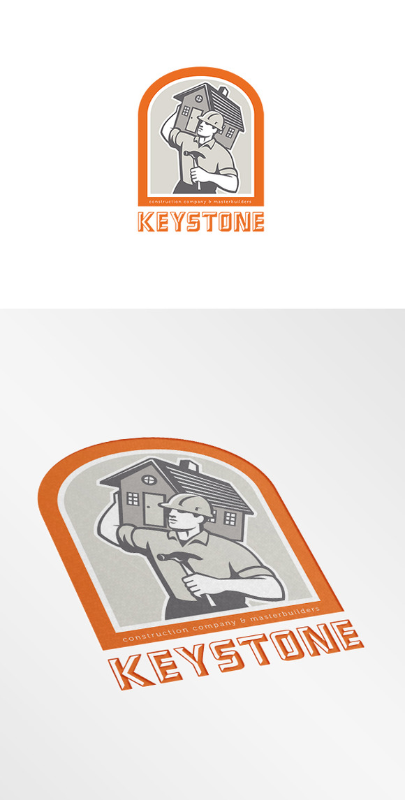 Keystone Construction Company Logo