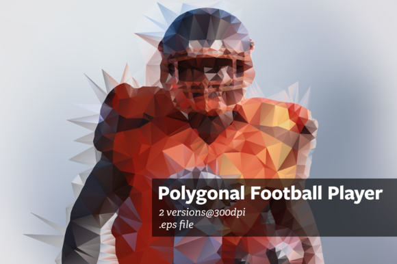 Polygonal Football Player