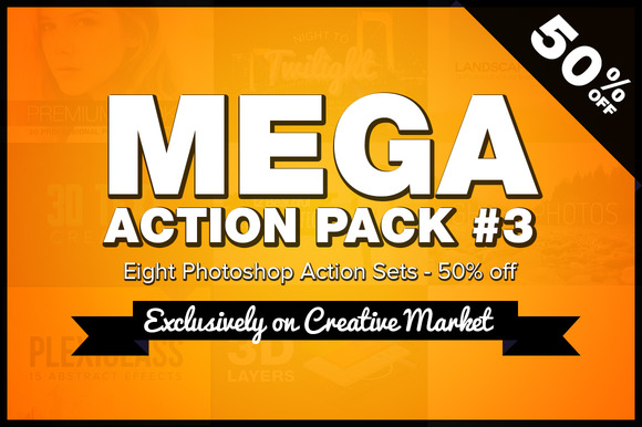 Mega Photoshop Action Pack #3
