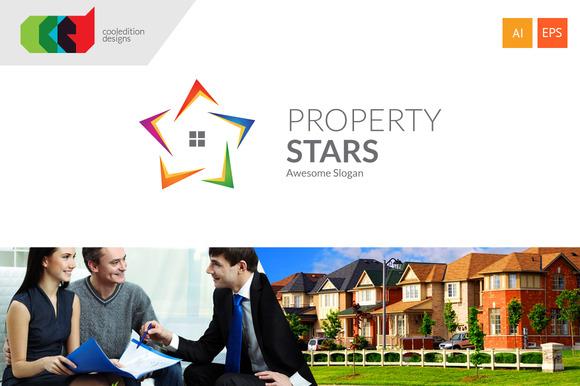 Property Stars Logo Free BC