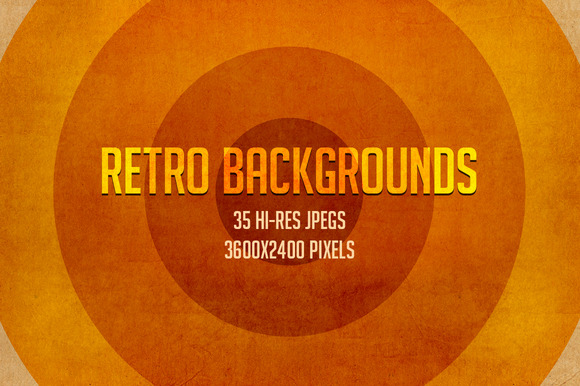 35 Retro Backgrounds