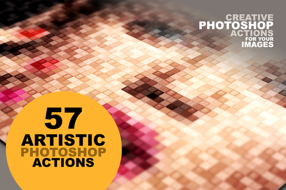 57 Artistic Photoshop Actions