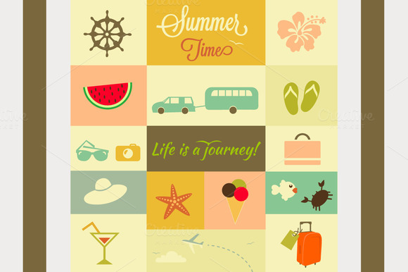 Summer Elements Pack 2