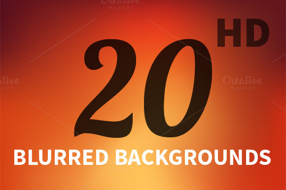 20 Hd Blurred Backgrounds