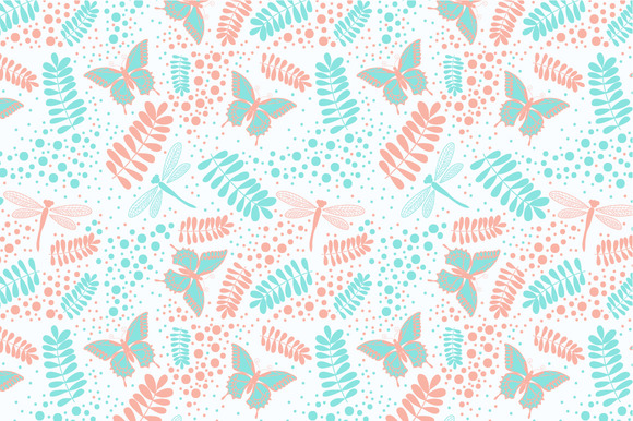 Seamless Pattern Summer
