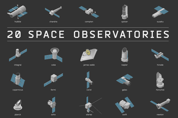 20 Space Observatories