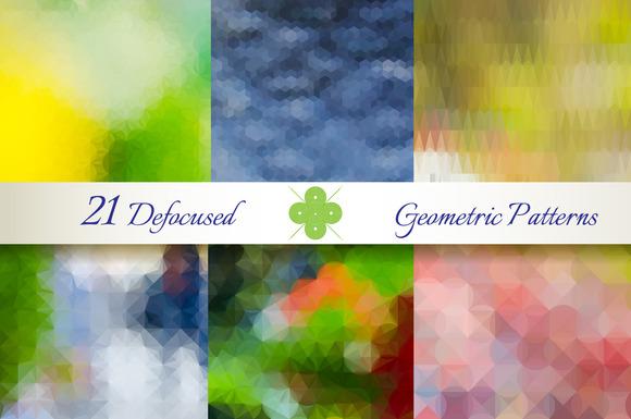 21 Defocused Geometric Patterns
