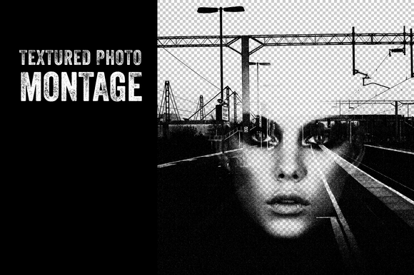 Textured Photo Montage