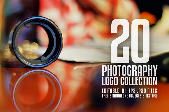 20 Photography Logo Collection