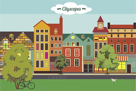 Cityscapes Set