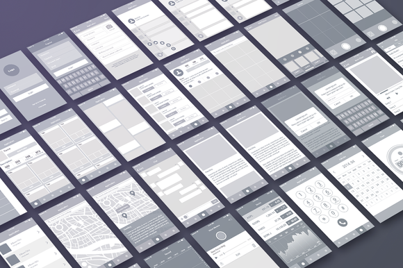 Wireframe UI Elements