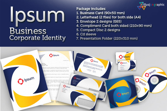 Ipsum Business Corporate Identity