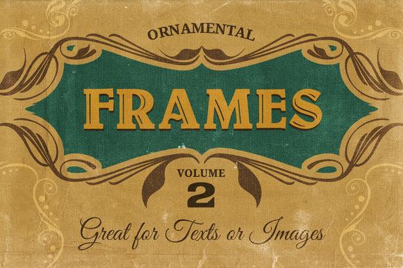 Ornamental Frames Vol.2