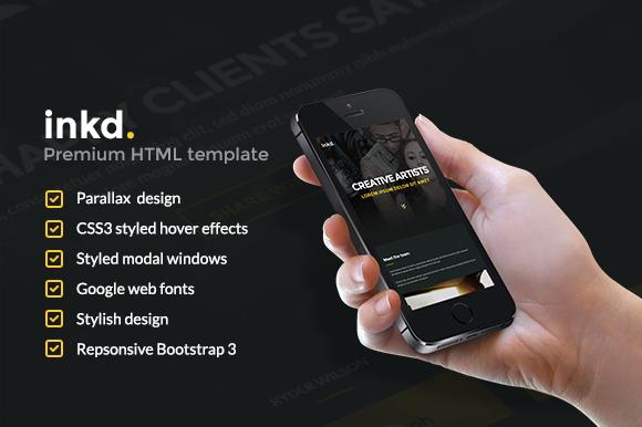 Inkd HTML Template