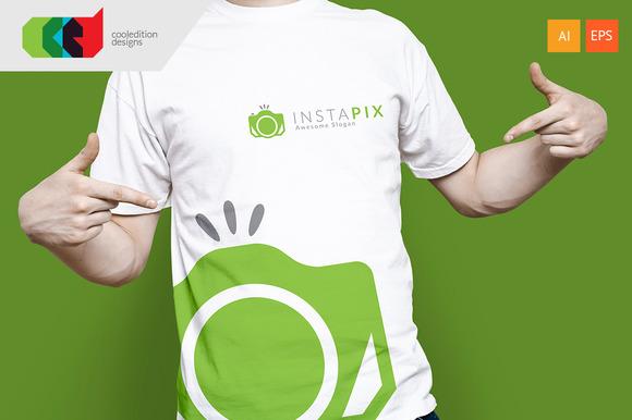 Insta Pix Logo Template Free BC