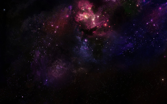 Deep Space Nebula Print