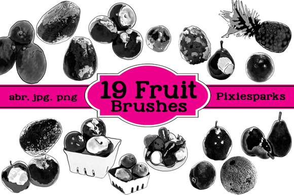 Fruit Brushes Vol 1