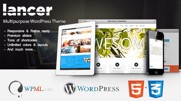 Lancer Multipurpose WorPress Theme